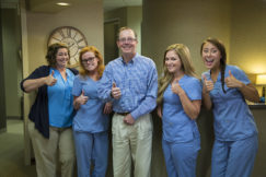 Dr. Ken Robertson and staff